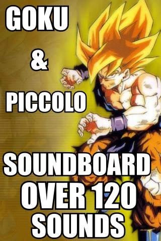 Amazing Goku & Piccolo Soundboard 120+ Sounds