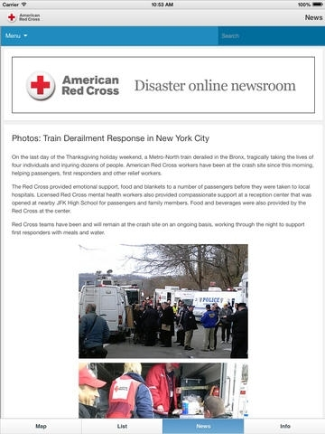 American Red Cross: Shelter View