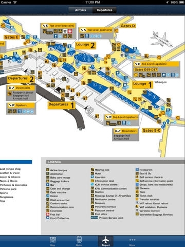 Amsterdam Offline Map - City Metro Airport