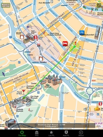 Amsterdam, The Map GPS