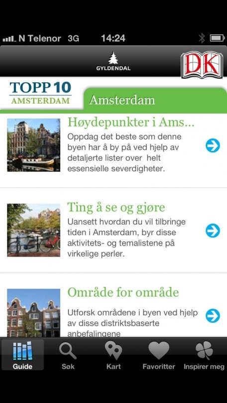 Amsterdam – Topp 10