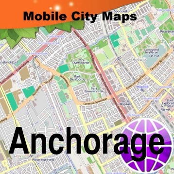 Anchorage Street Map.