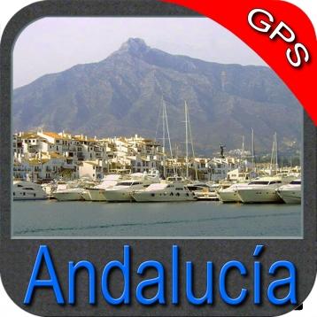 Andalusia (Spain) - Nautical Chart GPS