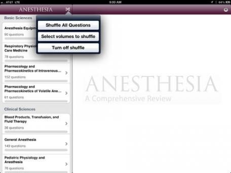 Anesthesia Comprehensive Review
