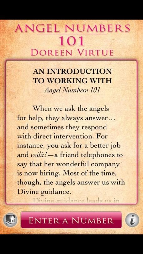 Angel Numbers 101 - Doreen Virtue, Ph.D.