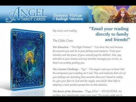 Angel Tarot Cards - Doreen Virtue, Ph.D. & Radleigh Valentine