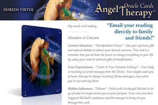 Angel Therapy Oracle Cards - Doreen Virtue, Ph.D.