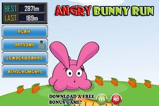 Angry Bunny Run and Escape - PRO