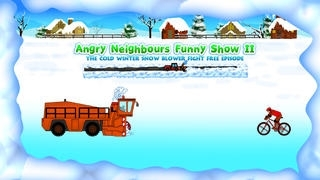 Angry Neibourgs 2 : The Revenge of the Snowblowers Fight Free Episode - Gold Edition