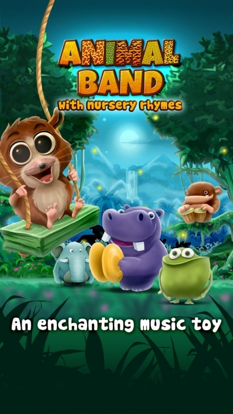 Animal Band ~ Nursery Rhymes ~ 3D Interactive Music Toy
