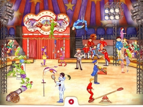 Animal Circus: Toddler's Seek & Find. An interactive activity book (2+)