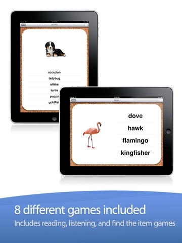 Animal Zoo - Flash Cards & Games