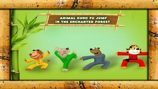 Animals Kung Fu Jump in the Enchanted Forest - Free Edition