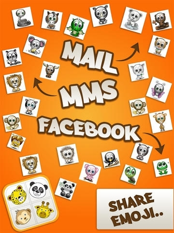 Animated 3D Animal Emoji & Emoticons