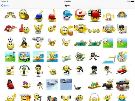 Animated 3D Emoji Emoticons - SMS Smiley Faces Stickers HD - Animoticons - PRO