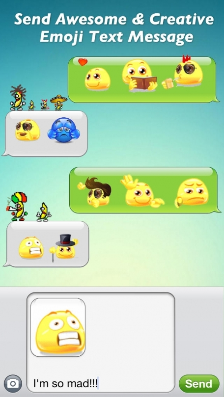 Animated 3D Emoji - Free New Emoticons Icons for Texting & Email & Messages