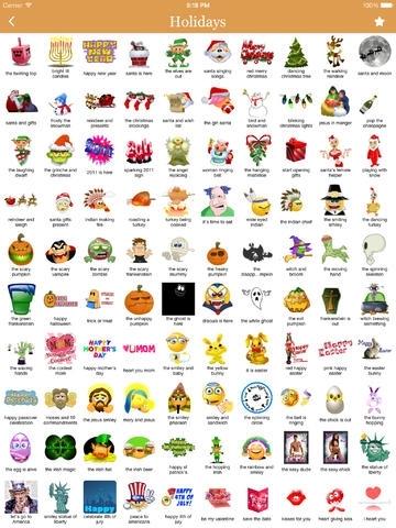 Animated 3D Emoji Stickers for WhatsApp, iMessage, WeChat, Facebook Messenger, Twitter, Kik, LINE, BBM, IM+, iOS7, Viber, Tango, Zoosk, SnapChat, Yahoo Messenger Y!, Google + Hangout, KakaoTalk, Skype and more!