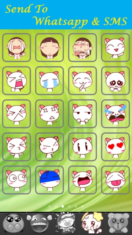 Animated Stickers App Free - Whats Funny Emoji Face Messenger,Mail Icons