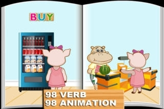 Animated Verb: First Words FREE