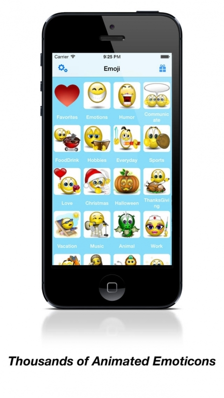 Animations Emoji Keyboard -  Animated 3D Emoticons & Smileys & Stickers for iMessage