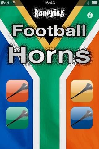 Annoying Football Horns: Vuvuzela Edition