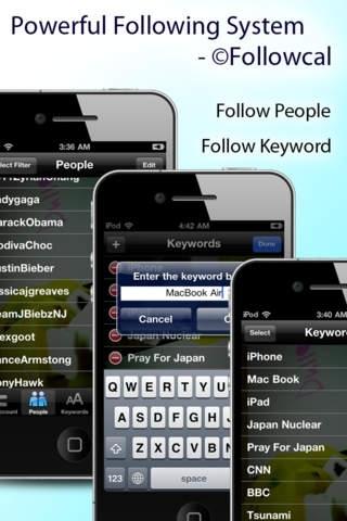 Anonymous Follower for Twitter: Follow People, Keywords Secretly