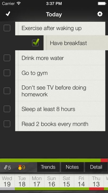 Any Habit - Better habits, better life