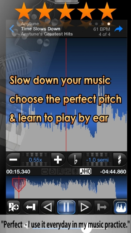 Anytune Pro+ - Slow Downer Music Practice Perfected