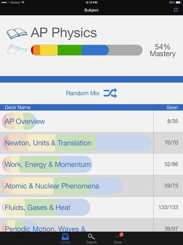 AP Physics Preparation, powered by Brainscape