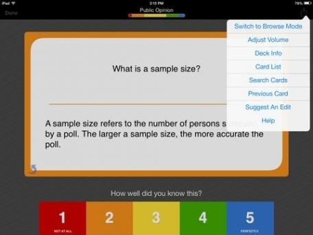 AP US Government & Politics Exam Prep - powered by Brainscape