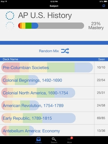 AP U.S. History Exam Prep - powered by Brainscape