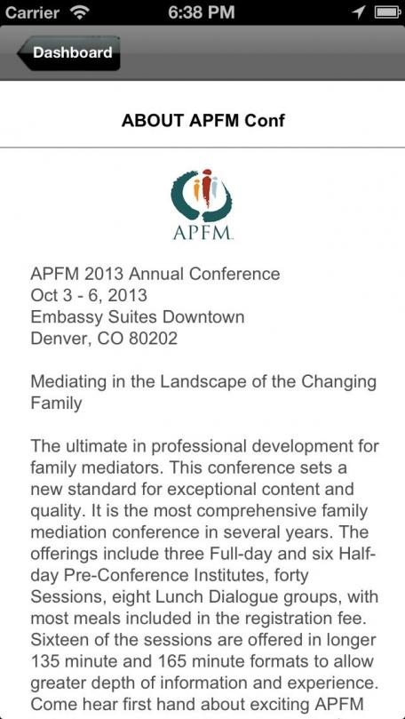 APFM Conf