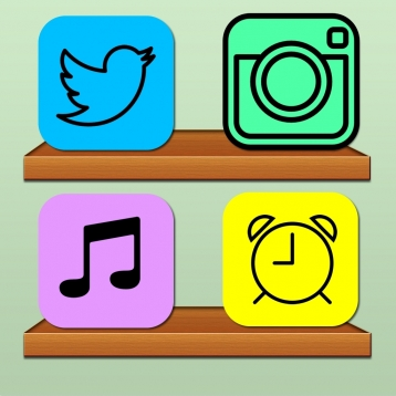 App icon backgrounds & home screen wallpapers