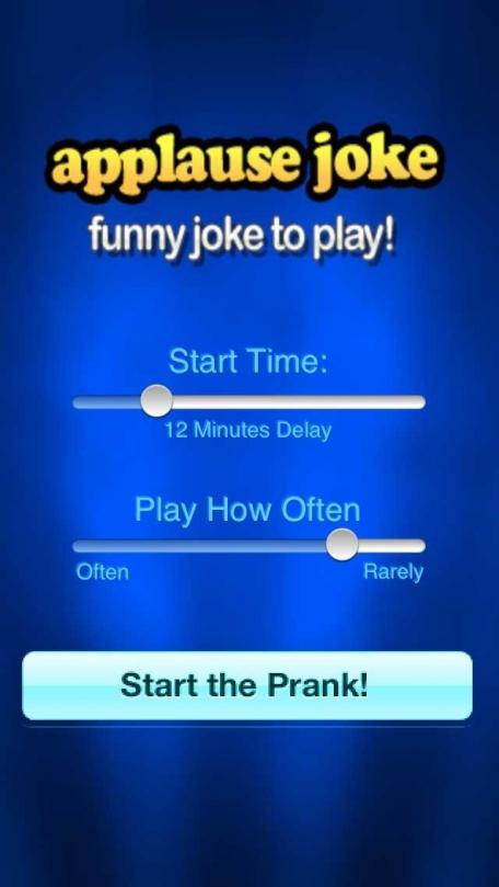Applause Joke