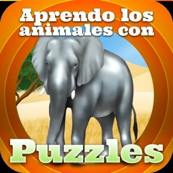 Aprender los animales con puzzles