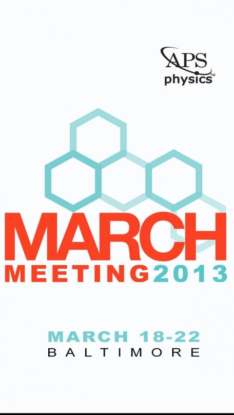 APS March Meeting 2013