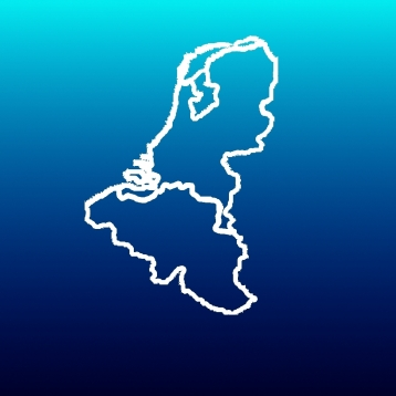 Aqua Map Netherlands & Belgium - Marine GPS Offline Nautical Charts for Fishing, Boating and Sailing