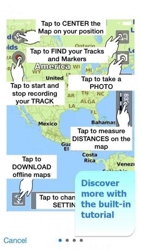 Aqua Map North Dakota - Lakes GPS Offline Nautical Charts