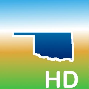 Aqua Map Oklahoma HD - Lakes GPS Offline Nautical Charts