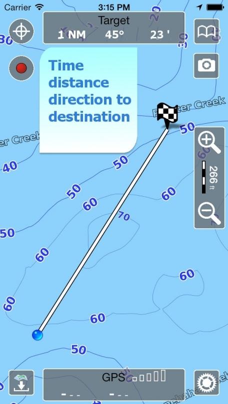 Aqua Map Texas - Lakes GPS Offline Nautical Charts