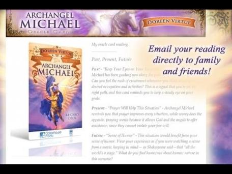 Archangel Michael Oracle Cards - Doreen Virtue, Ph.D.