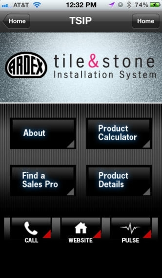 ARDEX Americas Product Calculator