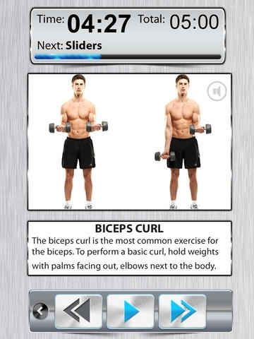 Arm Workout X FREE - Bicep Tricep Exercises For BodyBuilding