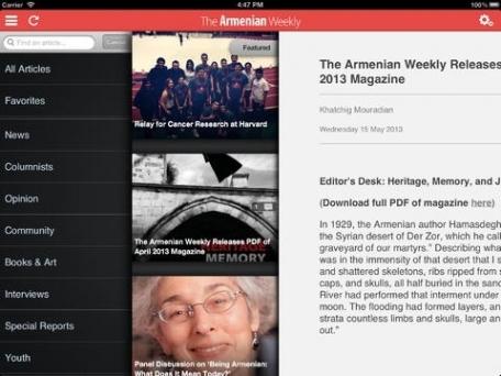 Armenian Weekly