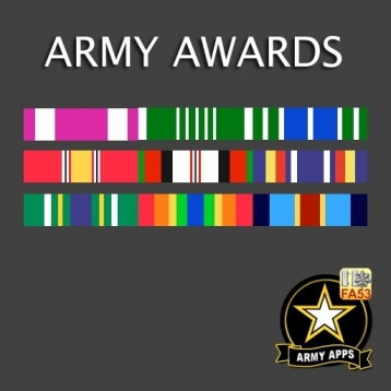 Army Awards