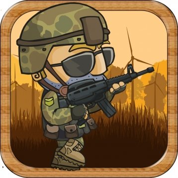 Army Runner - Roll The Soldier Through The Forest As Fast As You Can! - FREE JUMP FUN