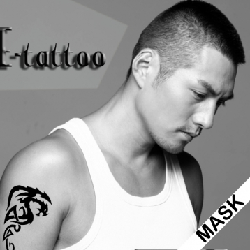 Art Cool Tattoo Mask Effect