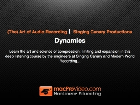 Art of Audio Recording - Dynamics