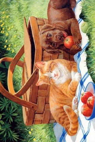 Artistic Animal Wallpaper