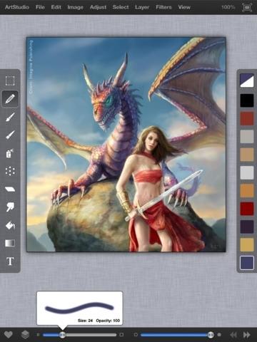 ArtStudio for iPad - draw, paint, filters, photo editor